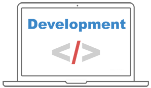 webshop development banner